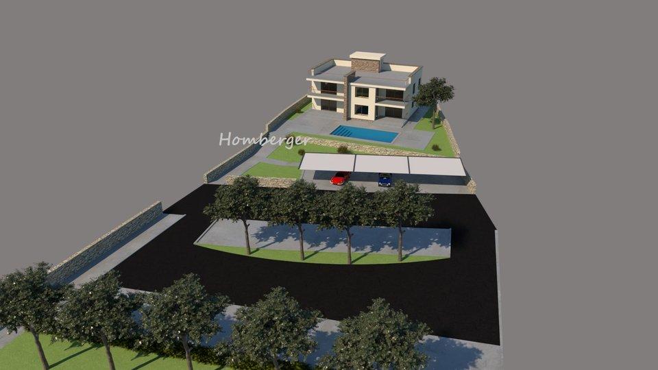Land, 1267 m2, For Sale, Šibenik