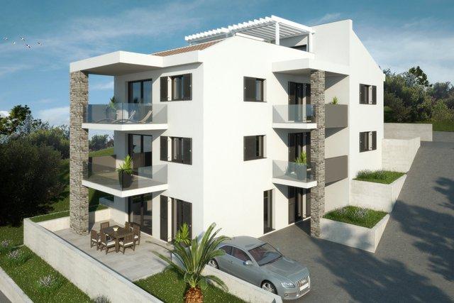 Apartman na prvom katu -50m od mora sa pogledom na more u okolici Grebaštice