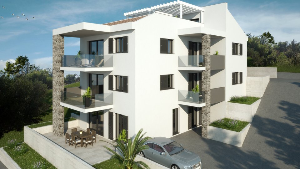Apartment 50meters from the Sea with a Sea view