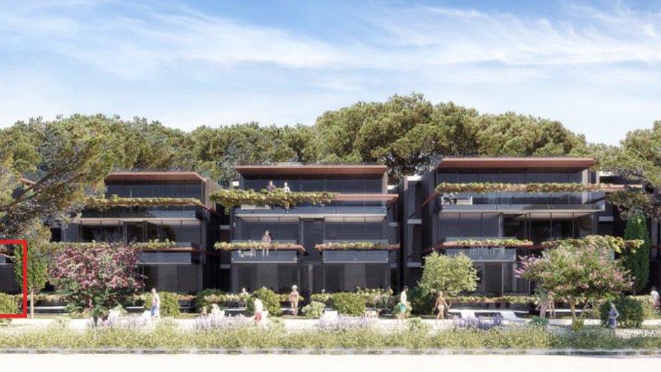 Luxus Apartment direkt am Strand mit Aufzug und Garage im Keller