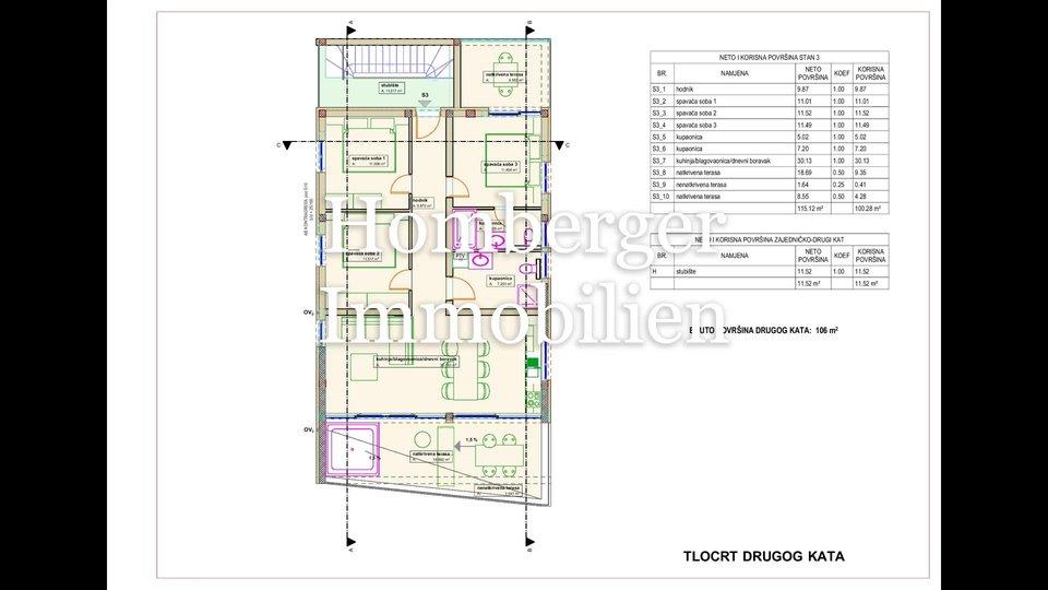 Appartamento, 115 m2, Vendita, Vodice